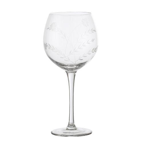 Bloomingville / Pohár na víno Clear Glass