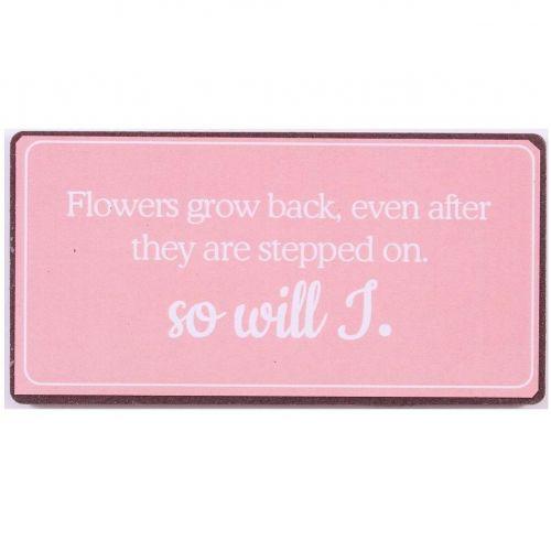 La finesse / Magnet Flowers grow back