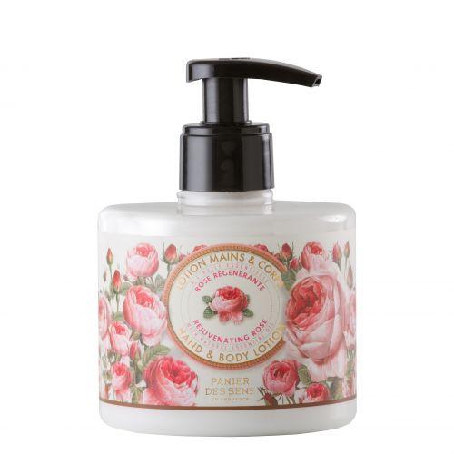 Panier des Sens / Omladzujúce mlieko na ruky - ruža