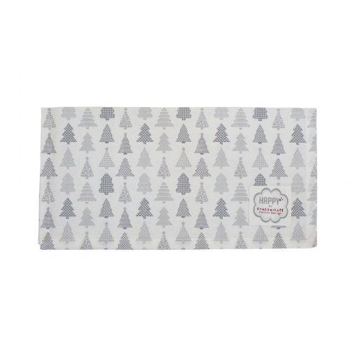Krasilnikoff / Bavlnený obrúsok Christmas Trees