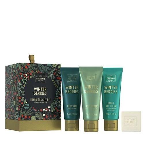 SCOTTISH FINE SOAPS / Darčekový set kozmetiky Winter Berries