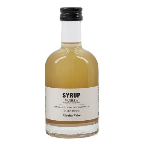 Nicolas Vahé / Sirup Vanilla 250 ml