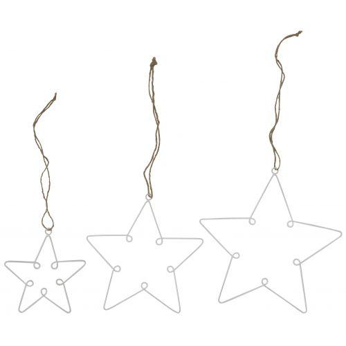 IB LAURSEN / Dekorativní hvězda z drátku White