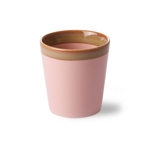 Keramický hrneček 70's Pink 180 ml