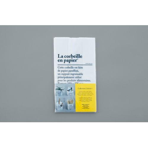 Úložný sáček z voskovaného papíru La Corbeille en Papier - set 8 ks