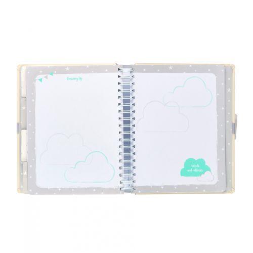 Deník miminka Baby B Neutral