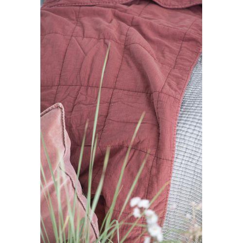 Prošívaný přehoz Faded Rose 130x180