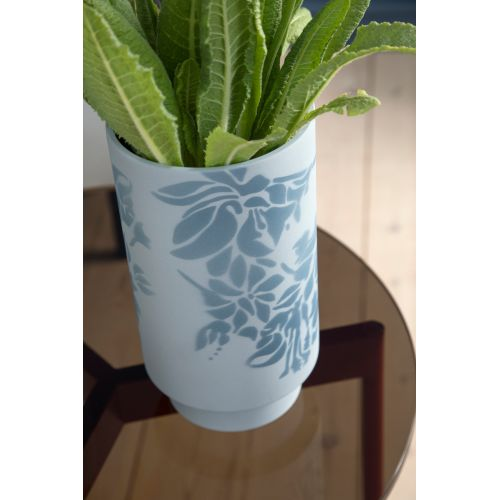 Keramická váza Kabell Dusty Blue 12,5 cm