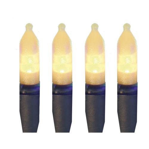 Venkovní světelný LED řetěz - 40 žároviček