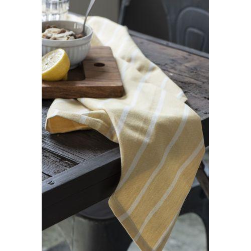 Utěrka Yellow with Stripes
