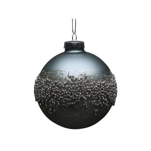 Vánoční baňka Pearls Antique verte