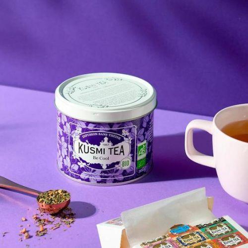 Sypaný bylinný čaj Kusmi Tea - Be Cool 90g