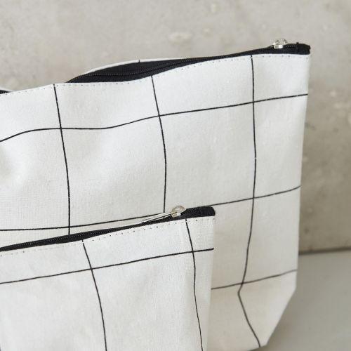 Kosmetická taštička Squares - menší