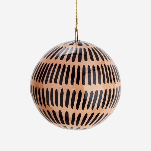 Vánoční baňka Pattern Stripe