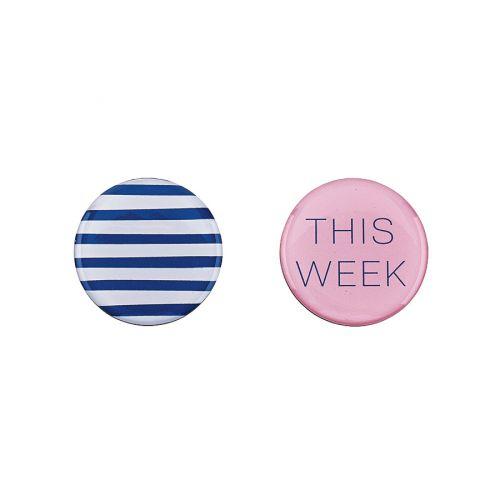 Trhací týdenní plánovač Fashion A4