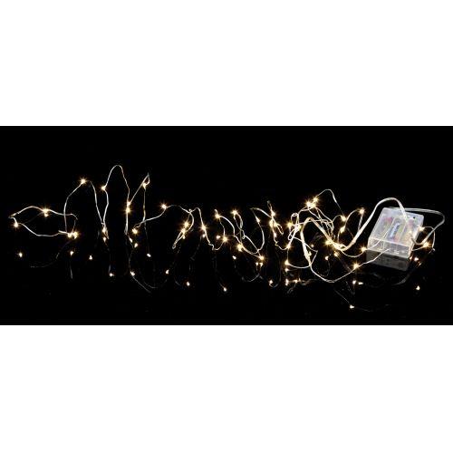 Světelný LED řetěz Silver Light