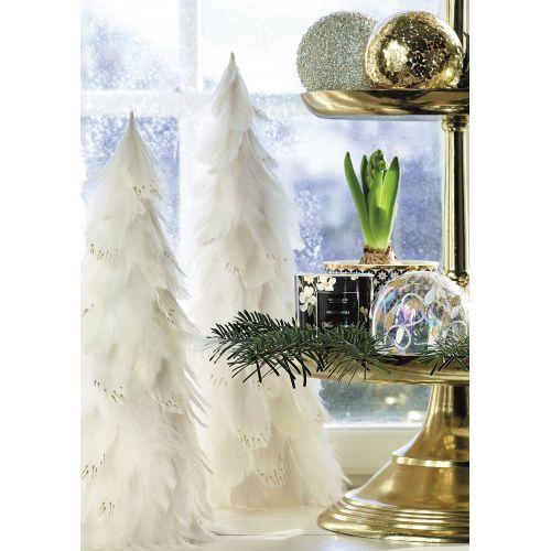 Dekorativní strom z peří Off White Large
