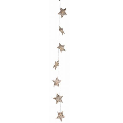 Světelný LED řetěz Star Aurora Gold