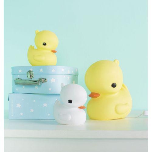 Dětská LED lampička Duck White