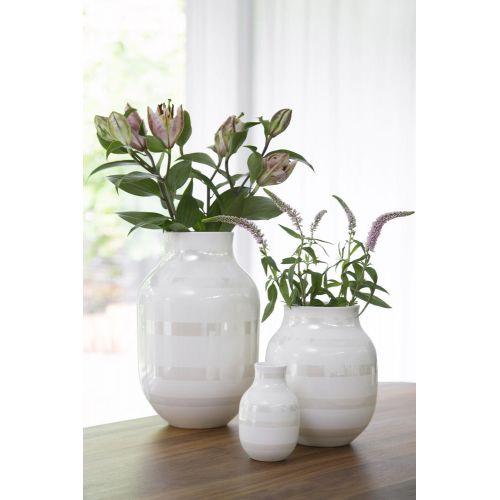 Keramická váza Omaggio Pearl 14 cm