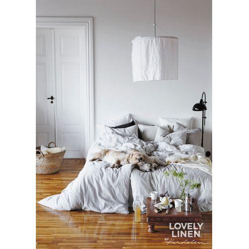 Přírodní lněné povlečení Light Grey