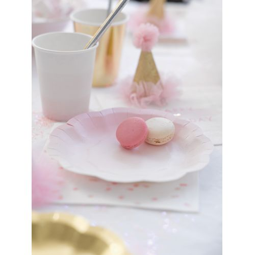 Papírové kelímky We Love Pink - set 12 ks