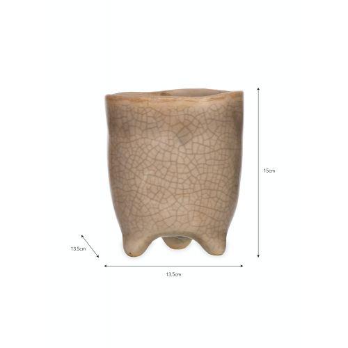 Keramický obal na květiny Stone Large