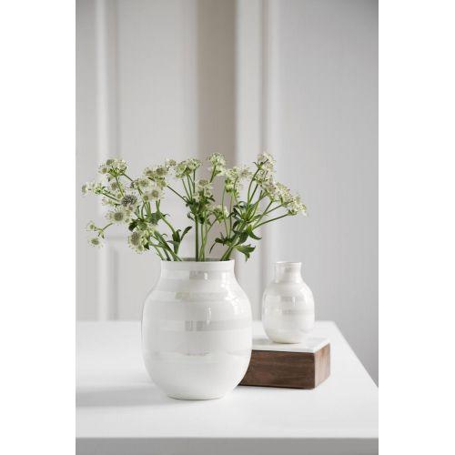 Keramická váza Omaggio Pearl 20 cm