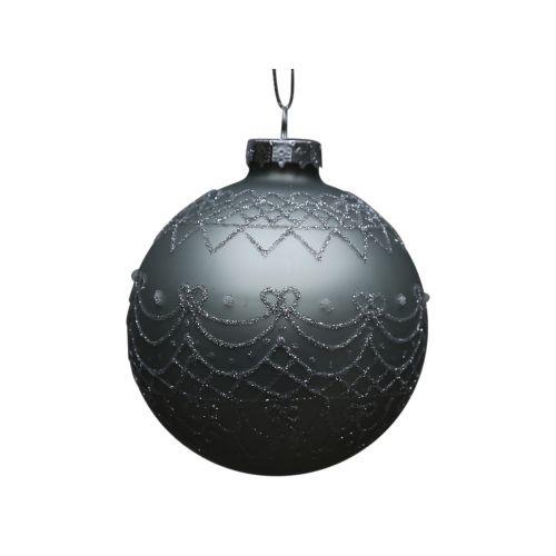 Vánoční baňka Holiday Antique verte