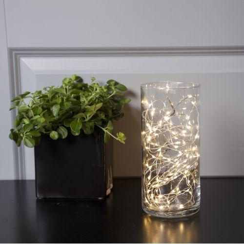 Světelný LED drátek Silver - 5 m (100 žárovek)