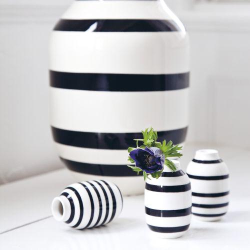 Keramická váza Mini Omaggio Black