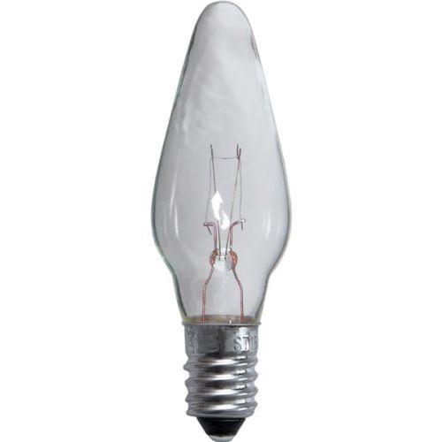 Náhradní žárovka čirá E10 55 V - 3 ks