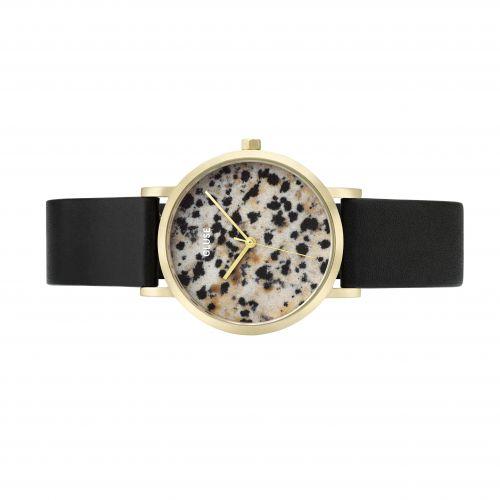 Hodinky Cluse La Roche Petite Gold Dalmatian/Black