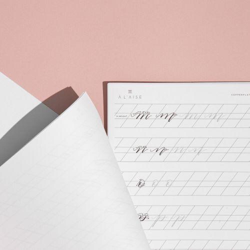 Kaligrafická písanka pro začátečníky