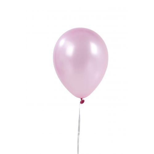 Nafukovací balónky Pink Marble - 12 ks