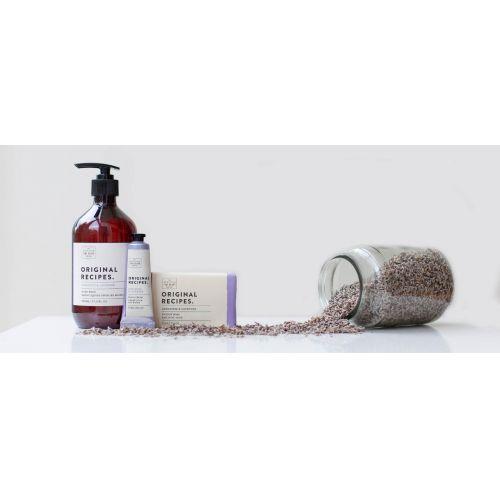 Luxusní tuhé mýdlo Muškát a levandule - 220g