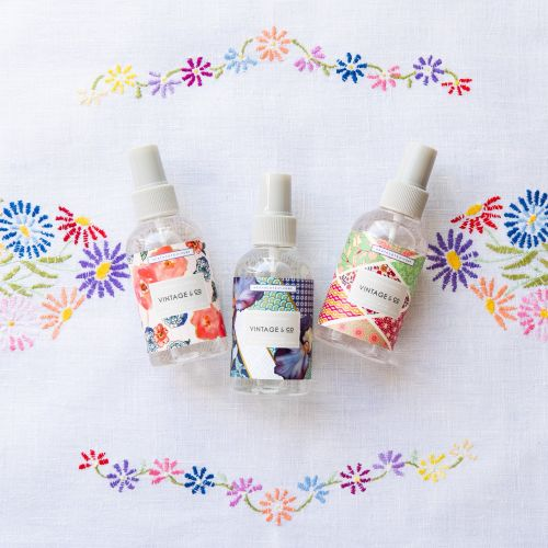 Antibakteriální sprej na ruce Braids & Blooms 150 ml