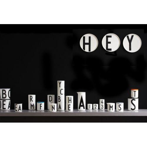 Porcelánový džbán Letters