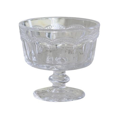 Skleněný pohárek Pearl edge