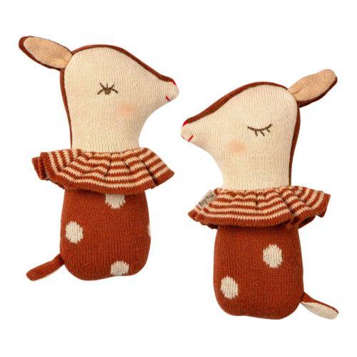 Chrastítka v kufříku Bambi Rattle - Set 12 ks