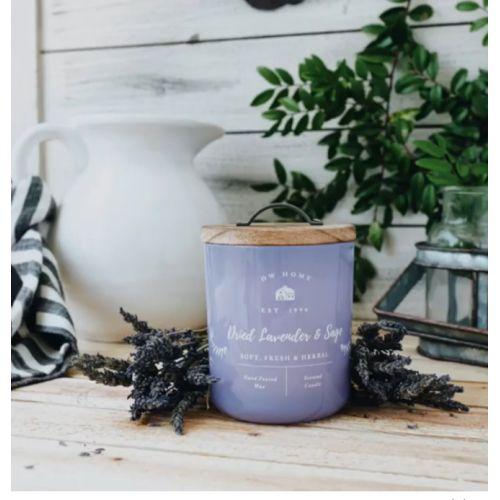 Vonná svíčka Dried Lavender & Sage 240g