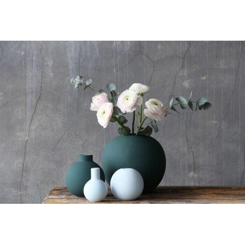 Kulatá váza Ball Dark Green 10 cm