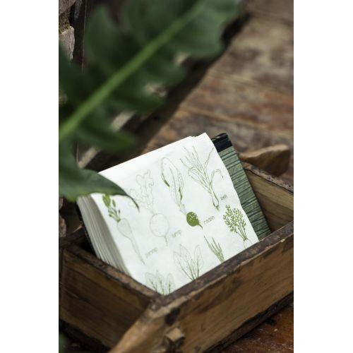 Papírové ubrousky Vegetables – 20 ks