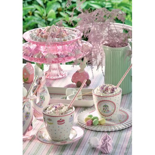 Porcelánový talířek Madelyn White