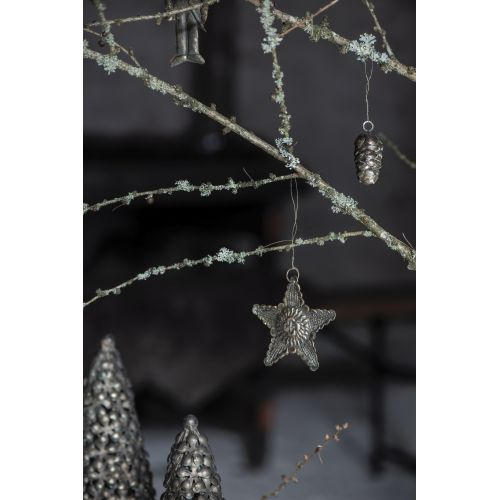 Kovová vánoční ozdoba Antique Star