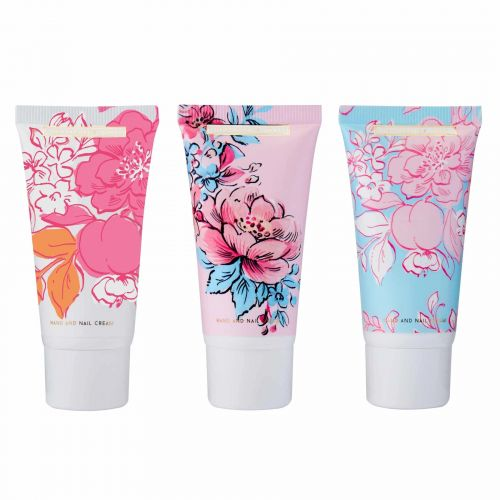 Krém na ruce Pinks & Pear Blossom - 3x30ml