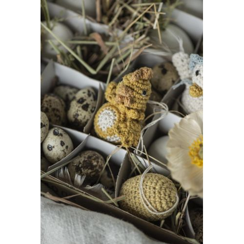 Pletená velikonoční vajíčka - větší