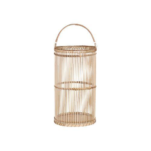 Bambusová lucerna Round - větší