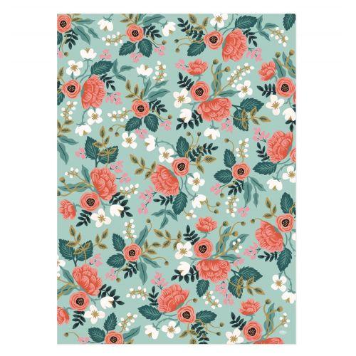 Balicí papír s květinami Birch