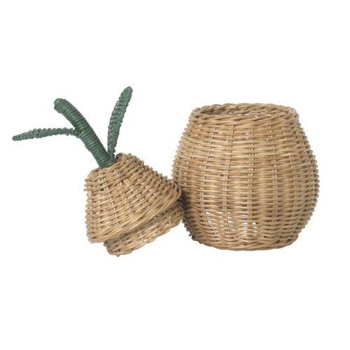 Proutěný košík Small Pear